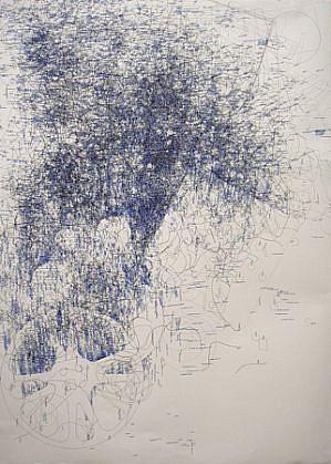 John Adelman, Inventory 2011, Gel ink on paper