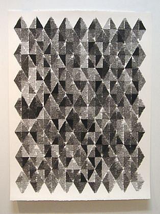 John Adelman, Fluid 2013, Gel ink on paper