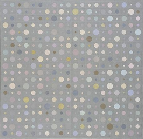 Christopher French, Remains of the Day, March 2 2009, Oil and acrylic on Braille paper