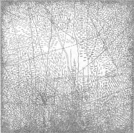 Jacob El Hanani, Linear Landscape (from the Linear Landscape Series) 2011, Ink on paper