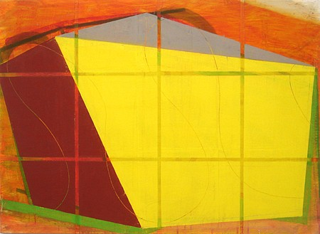 David Row, Architecture of Light 2011, Oil on canvas