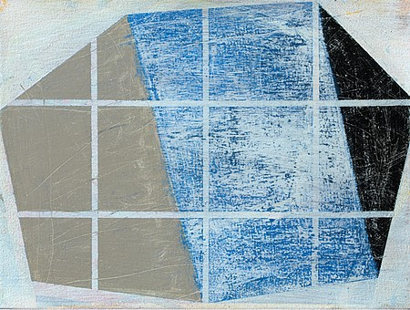 David Row, Site Lines 2011, Oil on canvas