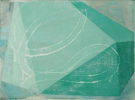 David Row, Aquagon 2011, Oil on canvas