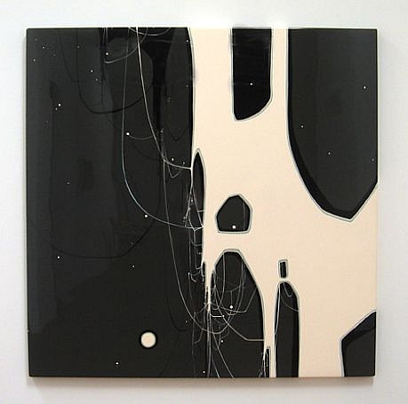 Kim Squaglia, Unrequited 2012, Oil, acrylic, and resin on panel