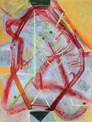 Richard Stout, Bozo 2010, Acrylic on canvas
