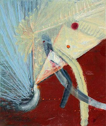 Richard Stout, Startled 2010, Acrylic on canvas