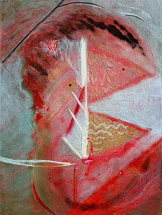 Richard Stout, Gossip 2010, Acrylic on canvas