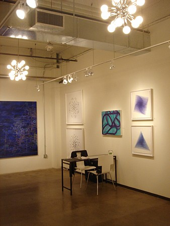 Holly Johnson Gallery at Dallas Art Fair - Installation View