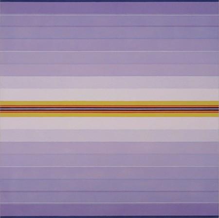 Anna Bogatin, Untitled (Crocus) 2016, Acrylic on canvas