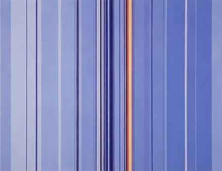 Anna Bogatin, Untitled (Delicate Joy) 2016, Acrylic on canvas