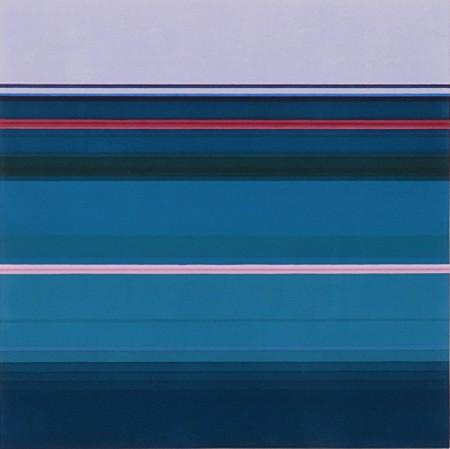Anna Bogatin, Untitled (Each Note) 2016, Acrylic on canvas
