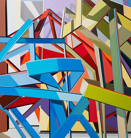 Tommy Fitzpatrick, Sheepshank 2014, Acrylic on canvas