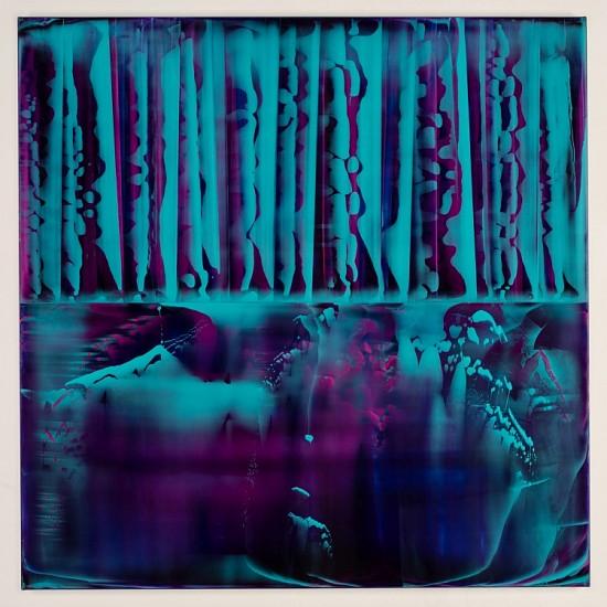 James Lumsden, Reflex 8 2014, Acrylic on canvas