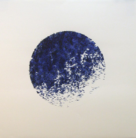 John Adelman, 20,122 stitches 2013, Gel ink on paper