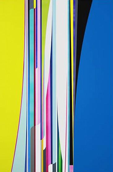 Dion Johnson, Hologram 2016, Acrylic on canvas