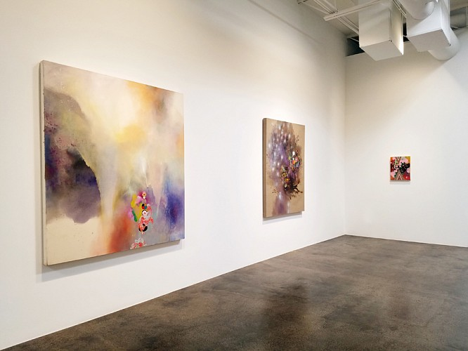 Jackie Tileston: Instructions for Dissolution - Installation View